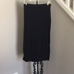 Gap Navy Blue Maxi Skirt